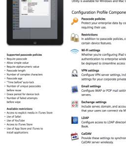 Documento sobre segurança no iPad