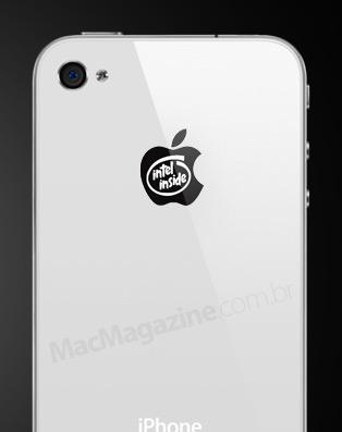 iPhone 4 com Intel Inside