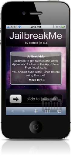 JailbreakMe no iPhone 4