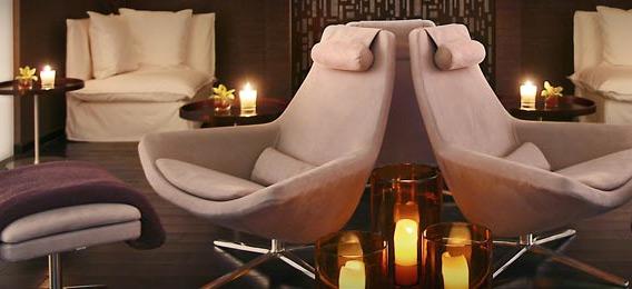 Sala de estar de hotel Sofitel