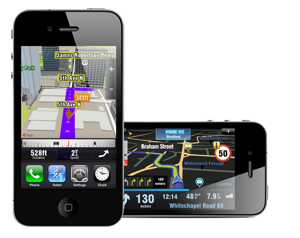 Sygic Mobile Maps no iPhone 4