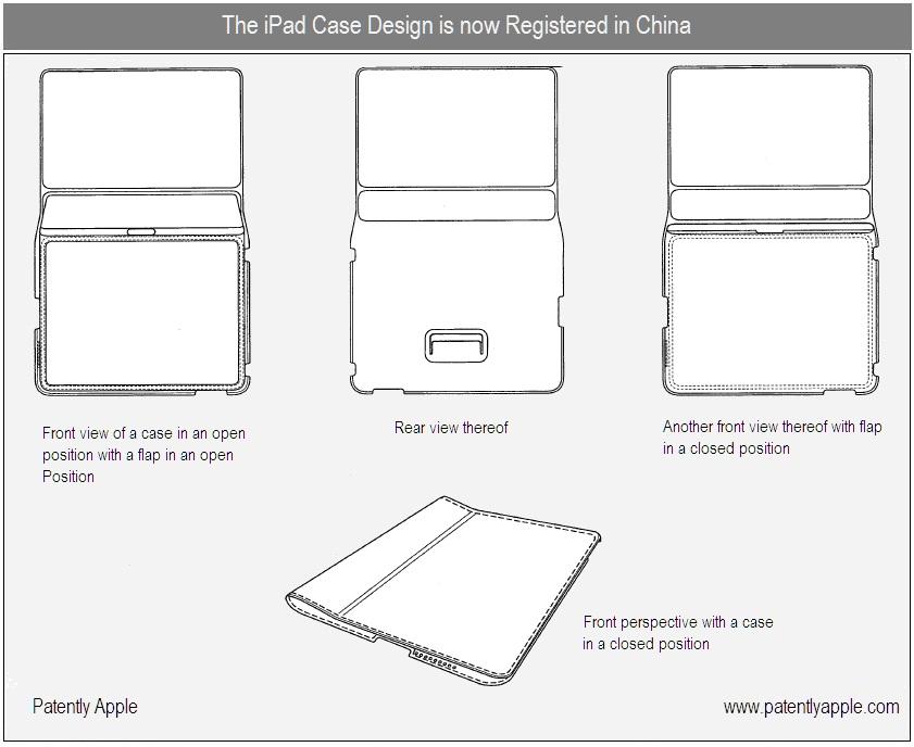 Patente da case do iPad