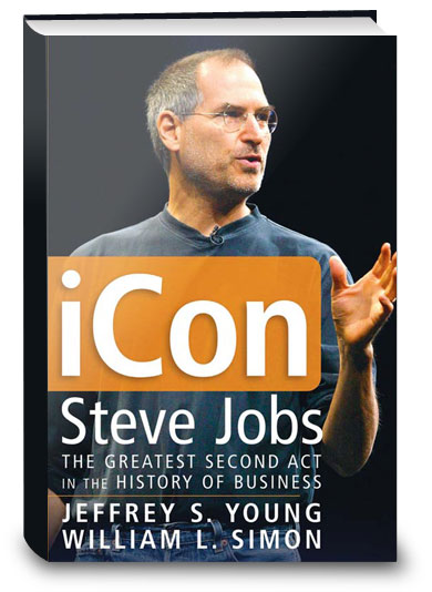 Capa do livro iCon - Steve Jobs