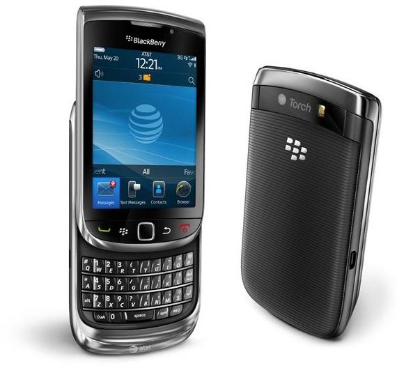 RIM's BlackBerry Torch 9800