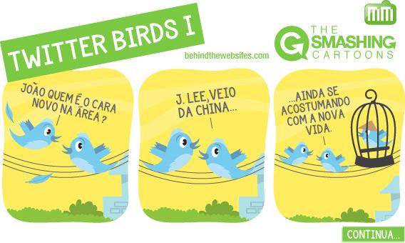 The Smashing Cartoons - Twitter Birds I