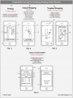 Patente de app assistente de compras