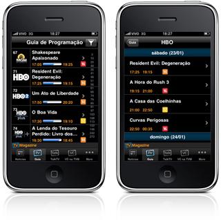 TV Magazine 1.4 em iPhones