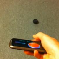 Bola controlada por smartphone
