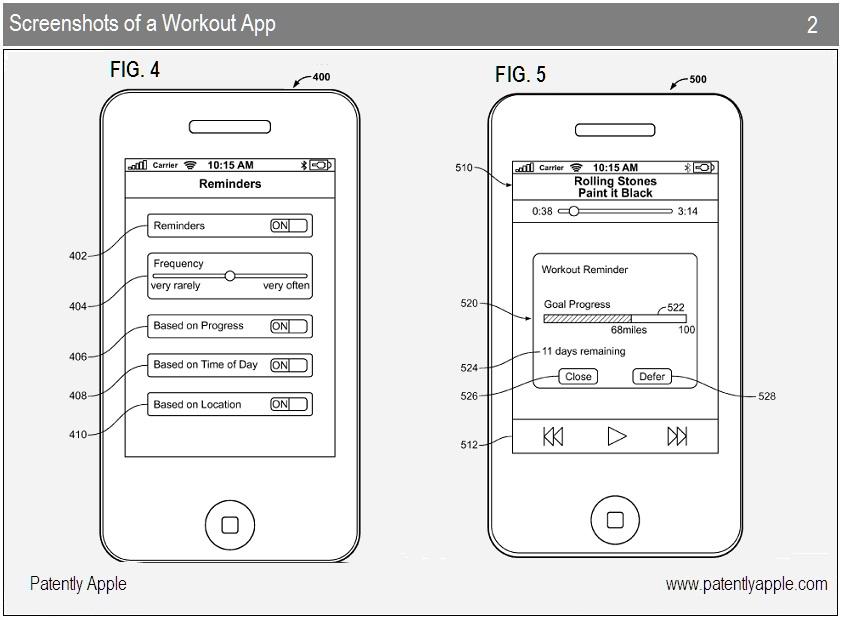 Patente de app para recomendar exercícios