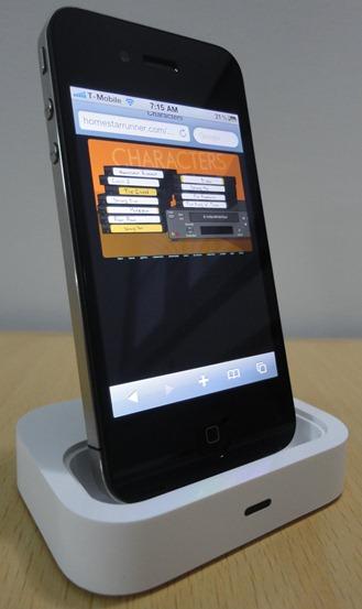 Flash rodando no iPhone 4