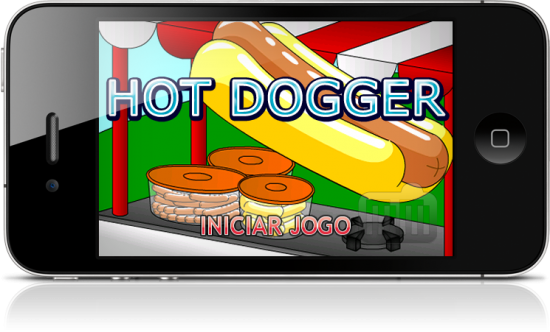 Hot Dogger no iPhone