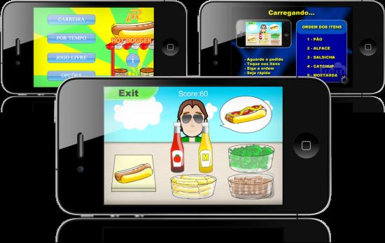 Hot Dogger em iPhones