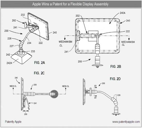 Patente de braço articulado