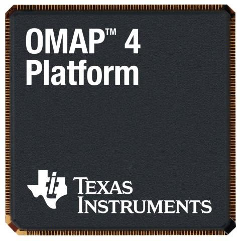 Chip da plataforma OMAP 4, da Texas Instruments