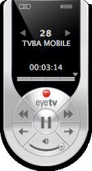 Controlador do EyeTV Lite
