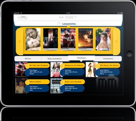 NET TV no iPad