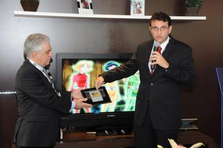 NET com iPad na ABTA 2010