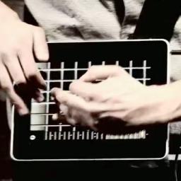 Tocando guitarra com iPad
