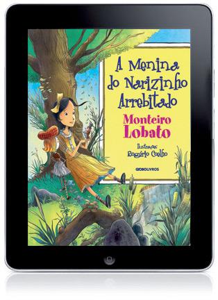 Monteiro Lobato no iPad