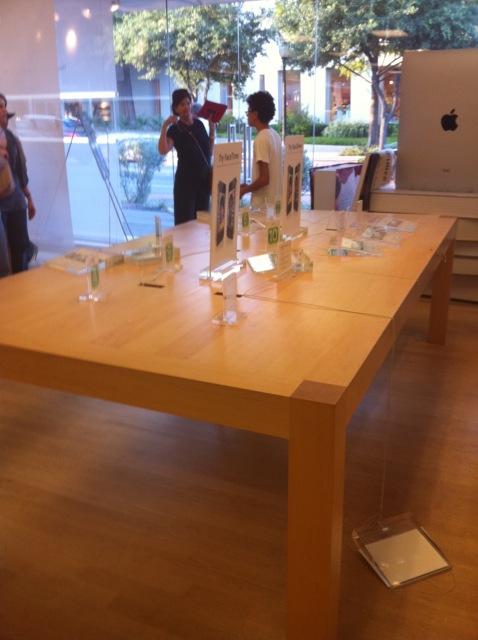 Roubo em loja da Apple