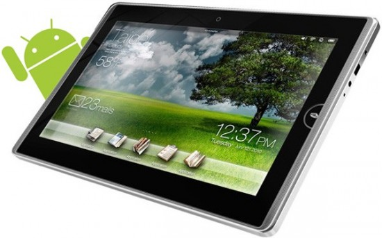Eee Pad com Android