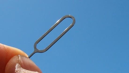 Ferramenta para ejetar chips SIM