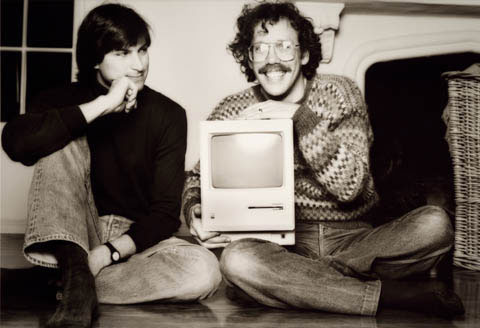 Steve Jobs e Bill Atkinson