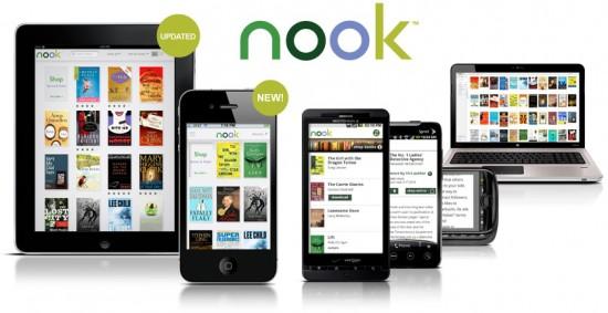 Apps NOOK, da Barnes & Noble