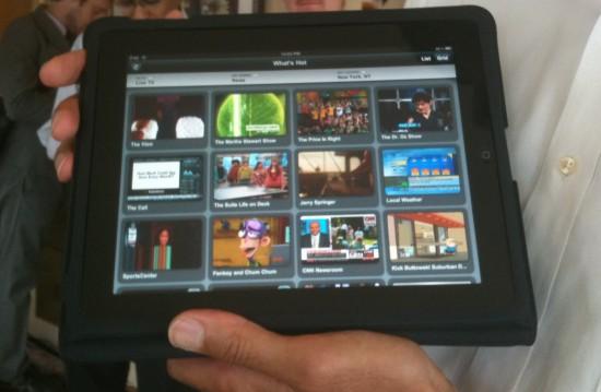 App da Veriozon FiOS no iPad