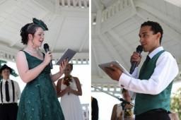 Casamento celebrado com um iPad