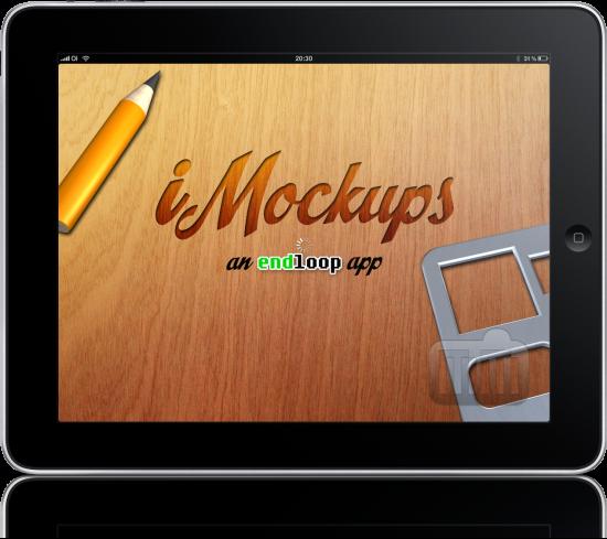 iMockups no iPad