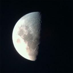 Lua fotografada com iPhone 4