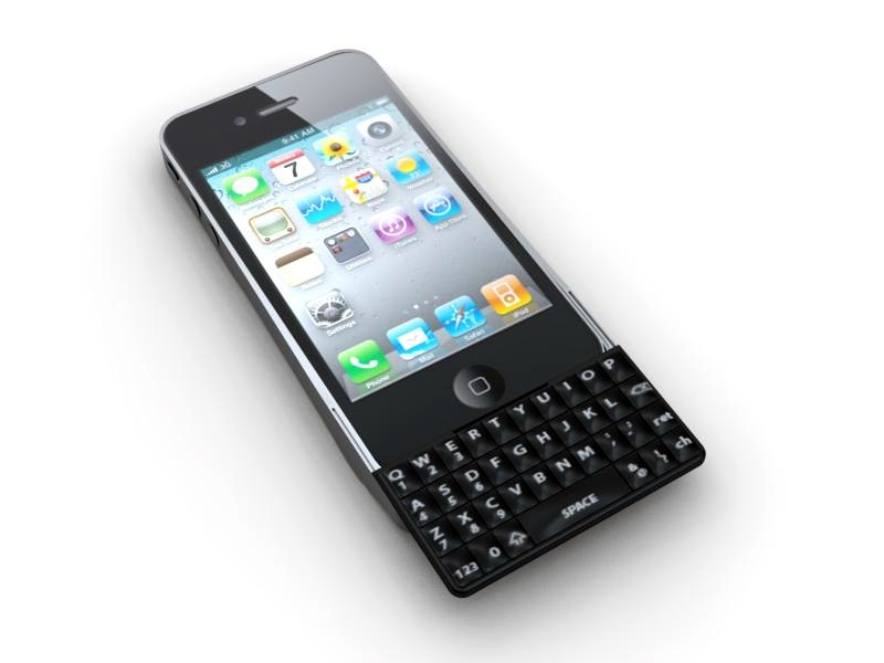 Teclado QWERTY para iPhone