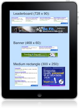 AdSense para apps do iPad