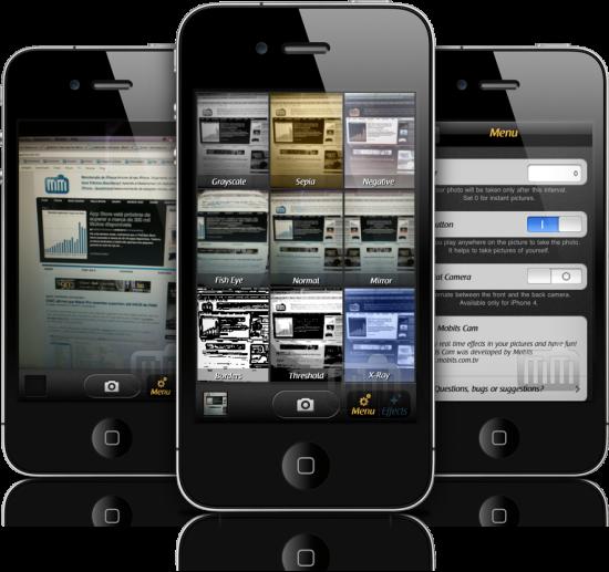Mobits Cam em iPhones
