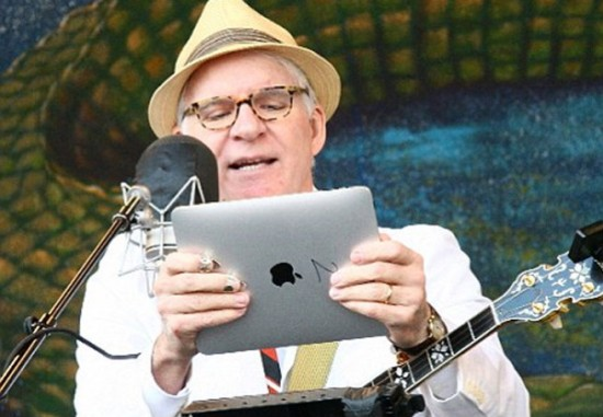 Mac é Pop - Steve Martin com iPad