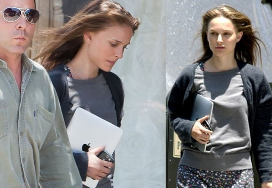 Mac é Pop - Natalie Portman com iPad
