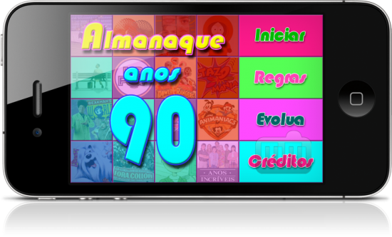 Almanaque Anos 90 no iPhone