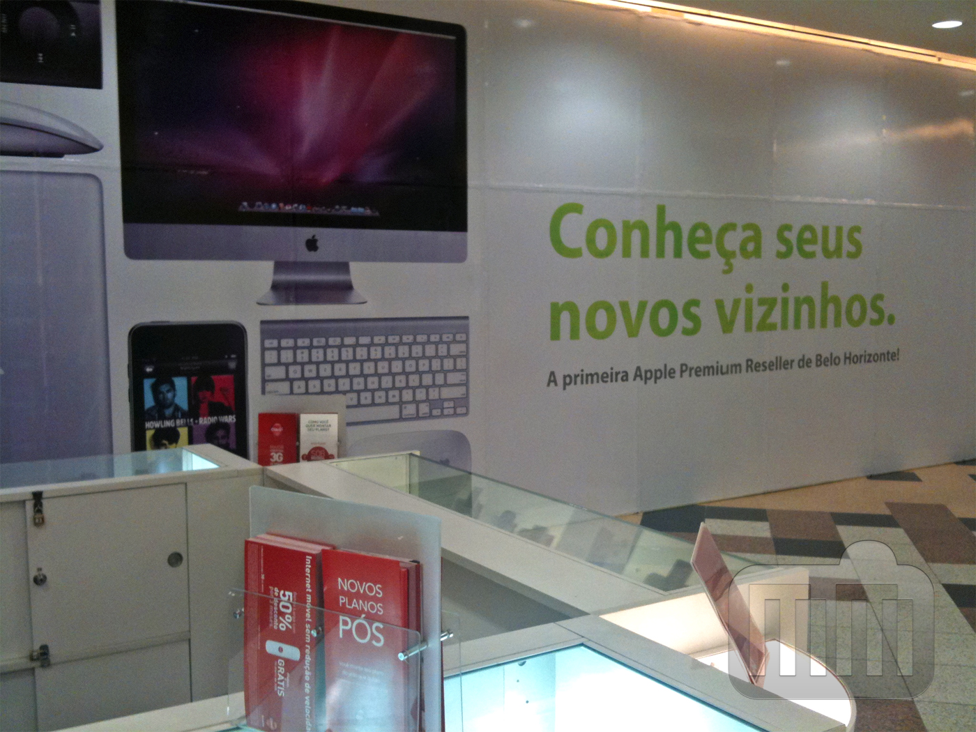 iPlace do Shopping DiamondMall, em Belo Horizonte