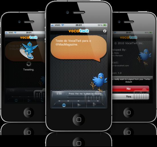 VocalTwit em iPhones