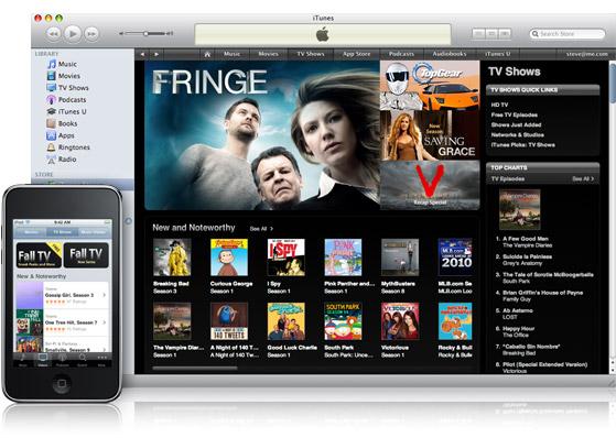 Programas de TV na iTunes Store