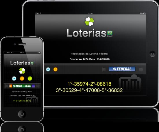 Loterias no iPhone e no iPad