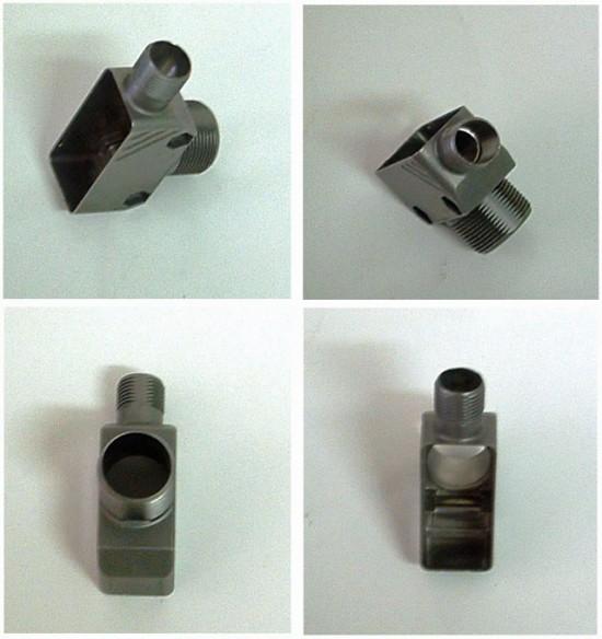 Peça feita com tecnologia Liquidmetal