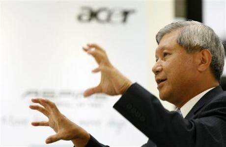 JT Wang, presidente da Acer
