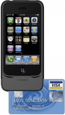 Complete Credit Card Solution for iPhone; Intuit & mophie