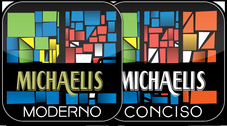 Ícones de dicionários Michaelis consolidados