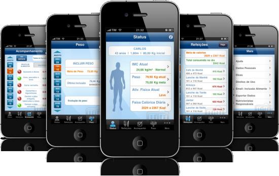 NutraBem 2.0 em iPhones