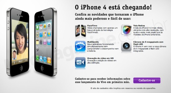iPhone 4 na Vivo