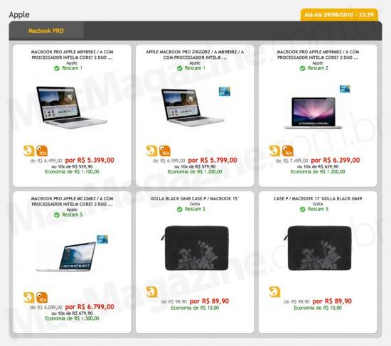 MacBooks Pro no Fnac Outlet