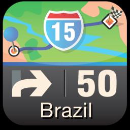 Ícone do Sygic Mobile Maps Brazil